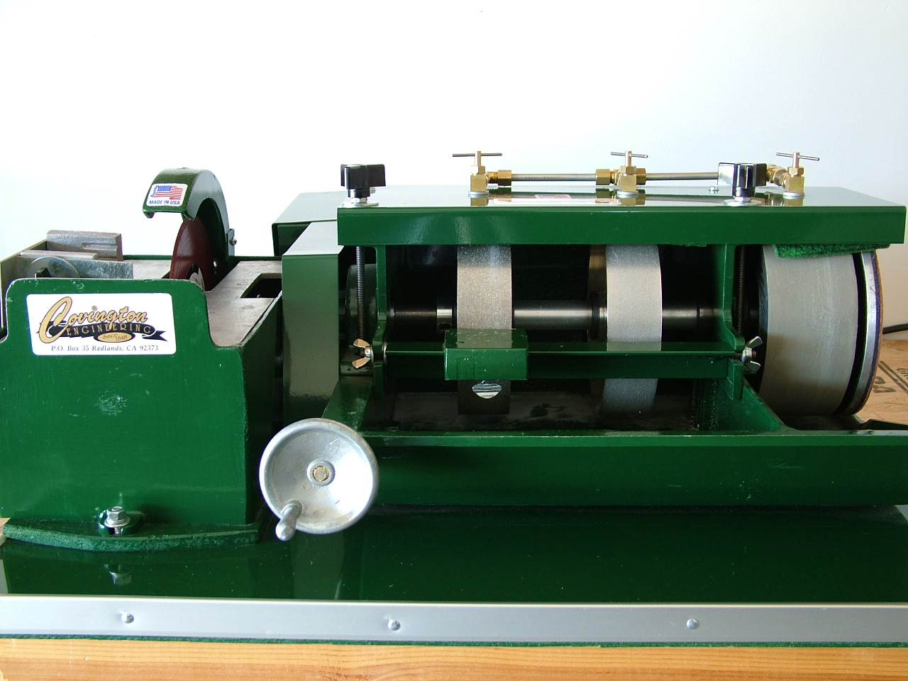 rock polisher machine